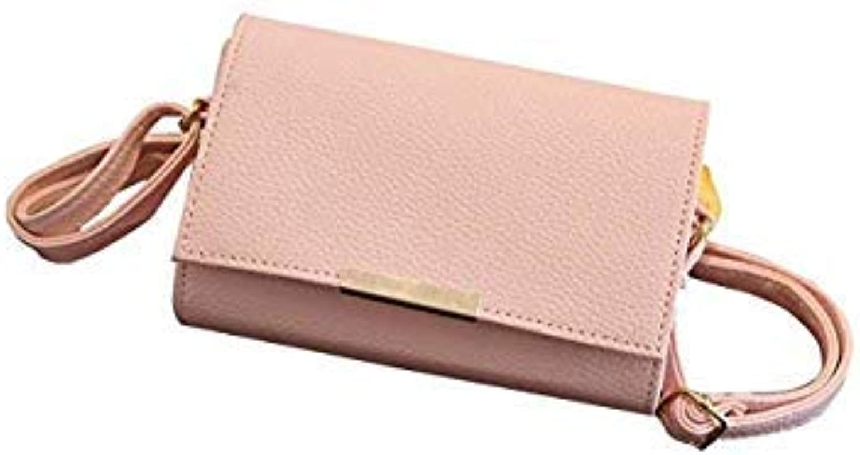 Bloomerang Women's Handbag Best Gift Women Handbag Tote Purse Messenger Hobo Satchel Bag Cross Shoulder Bag l8222 color Pink