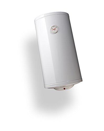 Bandini Braün SLIM-30 Scaldabagno Elettrico Cilindrico Verticale Slim con Anodo di Magnesio e Valvola di Sicurezza, 1200 W, 230 V, Bianco, 30 litri