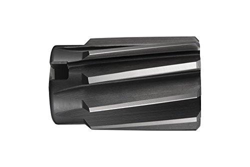 Dormer B95560.0 Shell Reamer, Bright/ST Coating, Cobalt High Speed Steel, Head Diameter 60 mm, Flute Length 50 mm, Full Length 71 mm