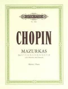 MAZURKAS - arrangiert für Klavier [Noten/Sheetmusic] Komponist : CHOPIN FREDERIC