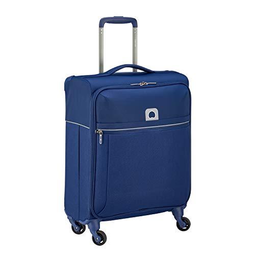 DELSEY PARIS Brochant Valigia, 55 cm, 40 liters, Blu (Bleu)