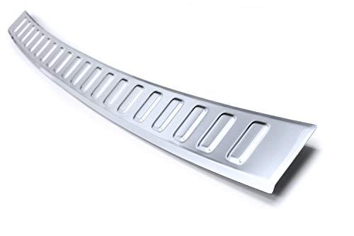 tuning-art L392 Protección para Parachoques Acero INOX para Kia Sorento 3, Color:Plata