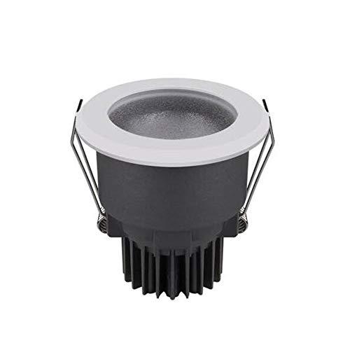 HSCW LED Downlights Foco de techo 3000K / 4000K / 5000K AC 220V High CRI 95RA 24 ° ángulo de haz de 24 ° IP67 A prueba de agua a prueba de niebla Lámparas de techo empotradas para baño Cocina de dormi