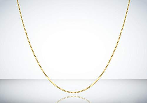 Corrente Cordão Ouro 18k 750 Veneziana 50cm