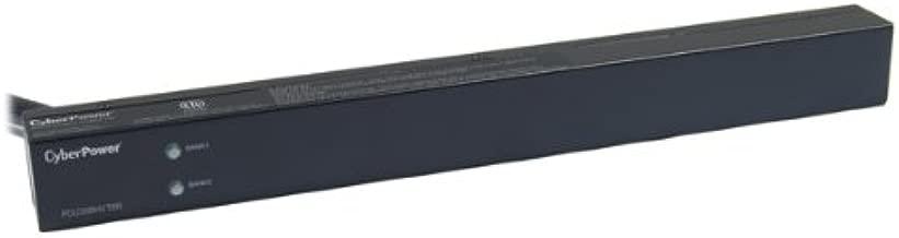 CyberPower PDU30BHVT8R Basic PDU, 208-230V/30A, 8 Outlets, 1U Rackmount