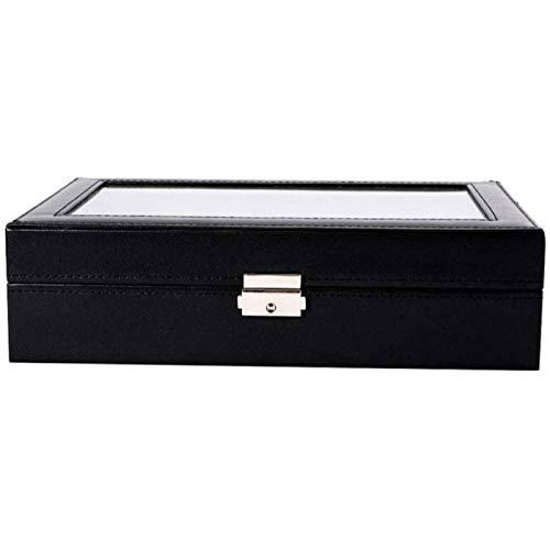 YIJIN Caja de Almacenamiento Caja de Acabado para El Hogar Caja de Colección de Pulseras Wenwan Caja de Joyería con Anillo