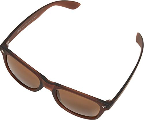 Urban Classics Unisex Sunglasses Likoma UC Sonnenbrille, Brown, one size
