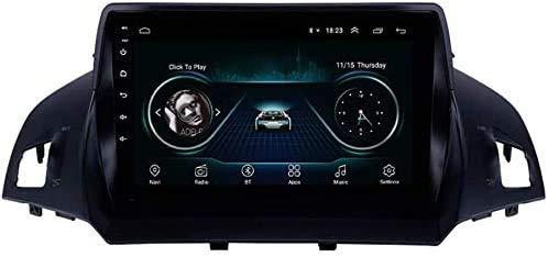 BUSUANZI Sistema de navegación GPS - para Ford Escape 2013-2016 DVD PLAYE Bluetooth Radio Sat Nav MÚSICA Stereo Stereo 4G WiFi Doble DIN navegación,4g+2g+32g