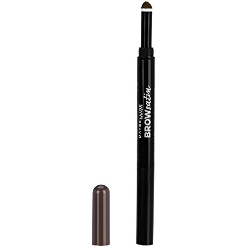 Maybelline New York Brow Define + Fill Duo Makeup, Deep Brown, 0.021 oz.
