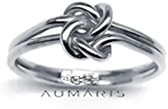 True Lovers Knot Ring Handmade Love Knot Rings