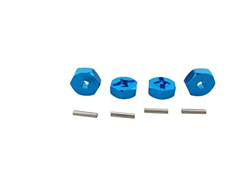 ACHICOO 4 piezas 1/18 WL-toys A949 A959 A969 A979 K929 llanta hexagonal...