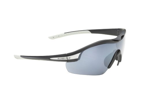 Swiss Eye 12485 Novena S - Gafas deportivas, color negro mate y gris