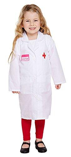 FANCY DRESS TODDLER DOCTOR GIRL 3 YRS