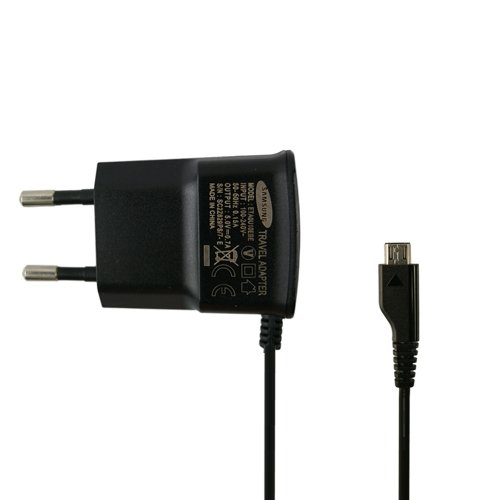 Original Samsung cavo di ricarica in nero per I9300Galaxy S3Adattatore caricatore cavo di ricarica cavo di ricarica da viaggio MicroUSB samlb1in confezione bulk