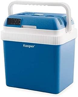 Nevera portátil caliente/frío, 24 L, 50 W, azul: Amazon.es ...