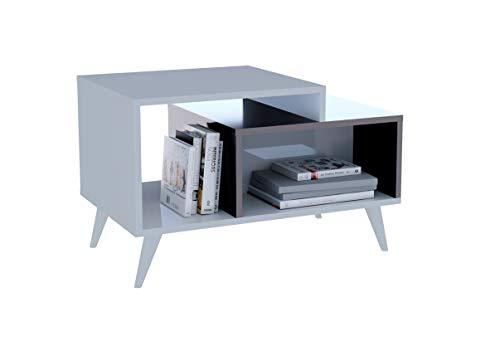 Homidea Sage Tavolino Basso da Salotto - Tavolino da Divano - Tavolino da caffè Moderno in Un Design alla Moda