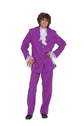 Groovy Man Purple Suit