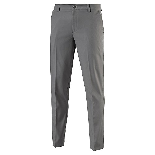 Puma Golf 2017 Men's Tailored Tech Pants, Quiet Shade, Size 38/30