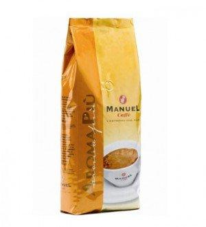 Manuel Caffe Aroma Piu ~ Kaffeebohnen 1KG ~ Espresso, Vollautomat und Siebträger geeignet