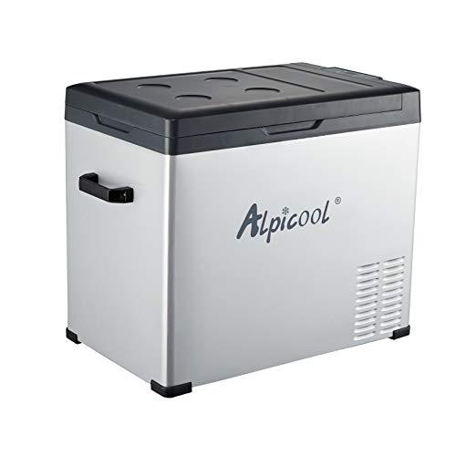 50 litros portátil Auto Frigorífico Congelador Nevera CC 12 V 24 V CA 110 V