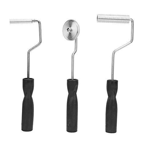Wincal Rollwerkzeug-Kit-3-teiliges Reparaturwerkzeug für Badewannenboote Glasfaser-laminiertes Rollentrommel-Blasenpaddel-Werkzeugset