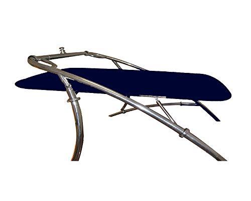 Reborn PRO1580 Navy Blue Wakeboard Flat Tower Bimini Top - 62' Width Rigid Cover