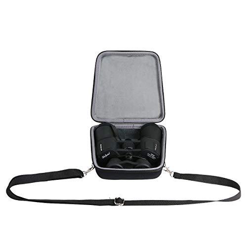 co2CREA Hart Reise Schutz Hülle Etui Tasche für BRIGENIUS/SkyGenius/Olympus Trooper 10 x 50 DPS-I Fernglas(Nur Tasche)
