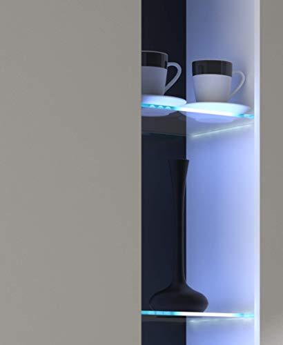 Küchen-Preisbombe Glaskantenbeleuchtung 2 Set LED Clips Beleuchtung Glasbeleuchtung Glasklammer