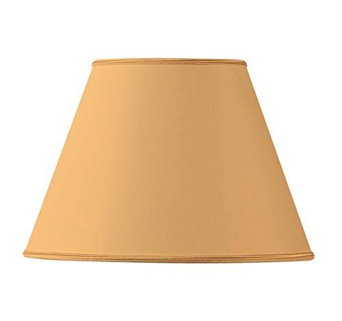 Conische stof lampenkap Ø 35 x 18 x 24 cm Helder Geel