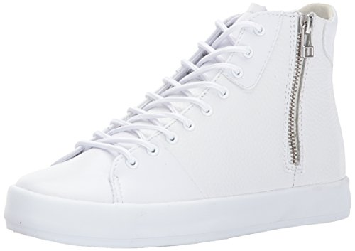 Creative Recreation womens W Carda Hi Sneaker, White Leather, 8.5 US