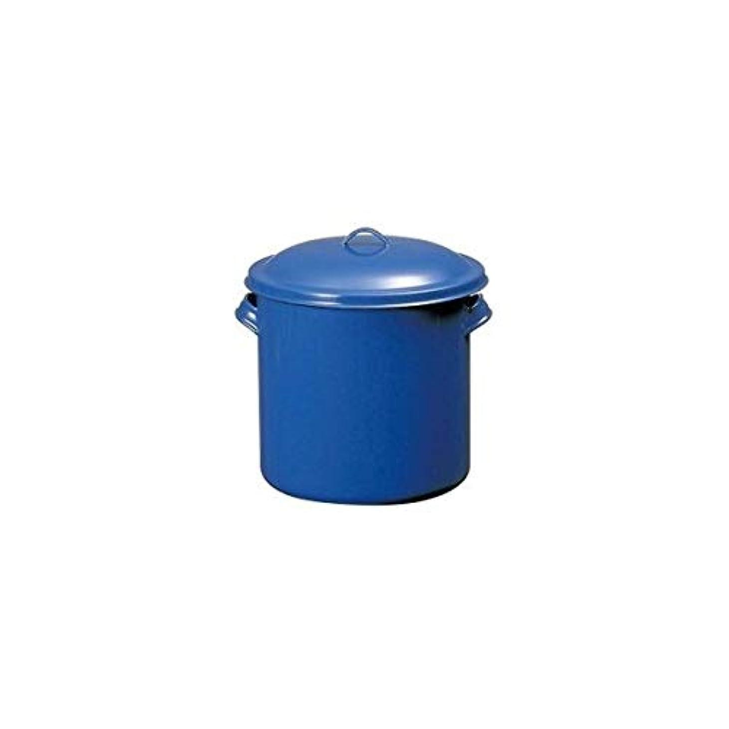 割るうめきことわざTOP印ホーローキッチンポット(手付) 14cm AKT16014