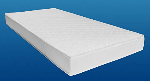 Tonnen-Taschenfederkernmatratze 120x200 cm Florence Plus Qualitätsmatratze Tonnentaschenfederkern Matratze Härtegrad H2. beidseitig Klimafaser, atmungsaktiv, 120 x 200 cm