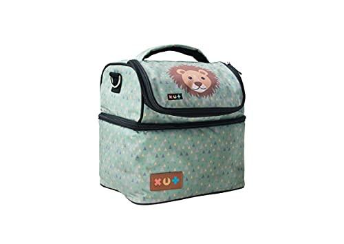 Tasche für Tonie Box, Transporttasche, Reisetasche, bis zu 32 Tonies - Löwe
