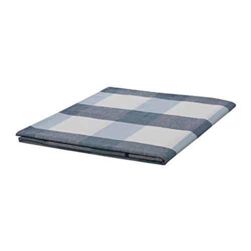 IKEA Tischdecke Rutig Karo blau Größe 57x94 503.640.93