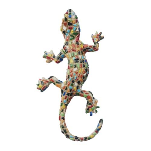 Imán para nevera con diseño de mosaico 3D, diseño de Gecko España