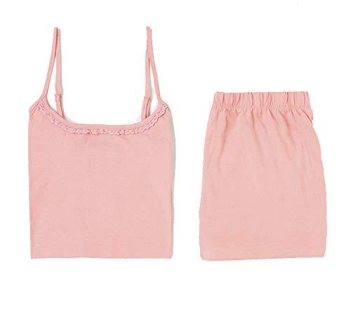 TEX - Pijama Corto de Tirantes para Mujer