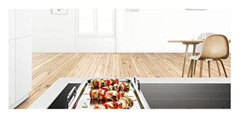 314w r43dJL. SL500  - Bosch HEZ390512 Zubehör für Kochfelder / Teppan Yaki / Made in Germany / für FlexZonen und CombiZonen / induktionsgeeignet / 42 x 27 cm / Mehrschichtmaterial mit Aluminiumkern