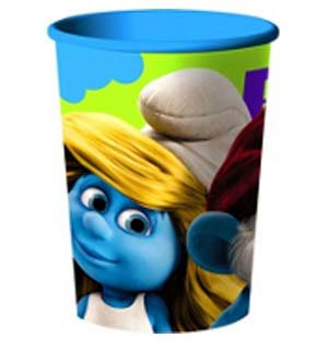 Hallmark Smurfs Plastic Cup [Contains 12 Manufacturer Retail Unit(s) Per SKU# 1PCU3709