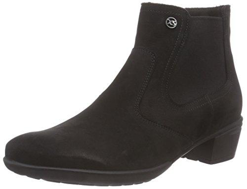 Hartjes Damen XS City Boot 15372 Kurzschaft Stiefel, Schwarz (schwarz 1), 37 EU