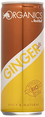Organics By Red Bull Ginger Ale - 24 de 250 ml (Total: 6000