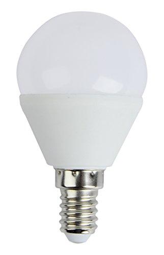 Brilliant 96698/05 A+, LED Tropfenlampe D45 easyDim, E14, 5 W 400 lm, warmweiß, 3000 K, 360 Grad, Glas, 5, 4.5 x 4.5 x 8 cm