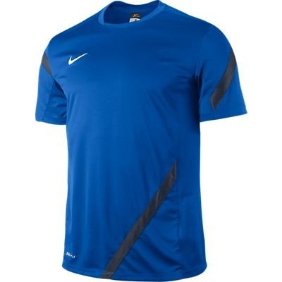 NIKE Competition 12 29 - Camiseta para Hombre, Manga Corta Azul Negro/Azul Marino/Blanco Talla:Medium