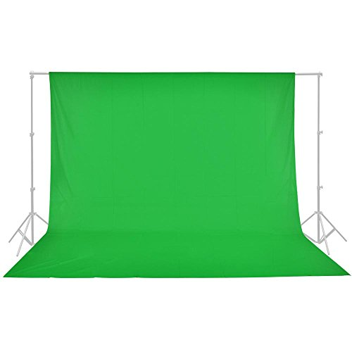 AW 100% Cotton Photo Studio Background 10x10' Green Muslin Photo...
