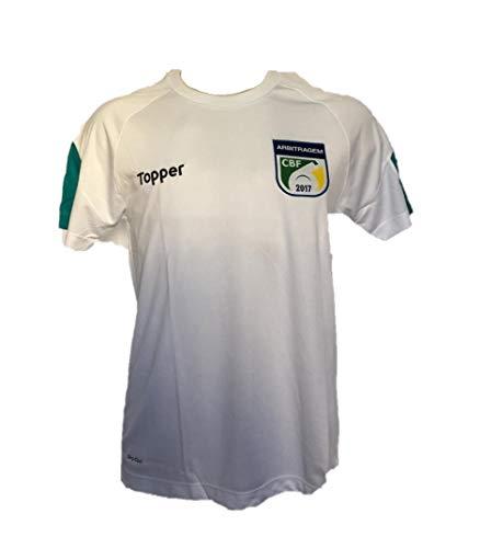 Camisa Aquecimento Arbitragem Futebol CBF Topper Branca - 4200459-001 (P)