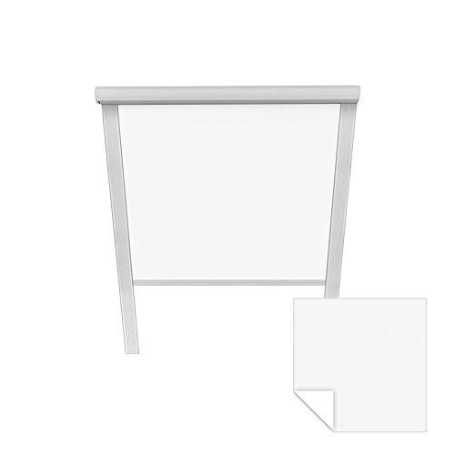 Victoria M. Verdunkelungsrollo passend für Roto-Dachfenster 11/11 weiß