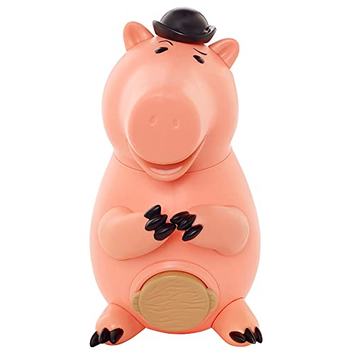 Disney Pixar Toy Story Action Figure Evil Doctor Porkchop Piggybank Toy Movie Character, 5.9-Inch (15-cm) Tall with Highly Posable Authentic Design, Kids Gift for Ages 3 Years & Older