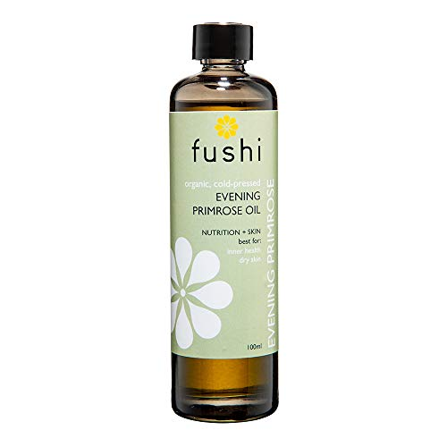 Fushi Wellbeing Fushi Evening Primrose Organic Oil 100 ml Extra Virgin, Biodynamic Harvested Cold Pressed