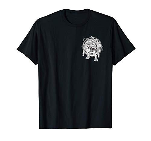 Tekno Mecha Roboter 23 ACID Mecha Rave T-Shirt