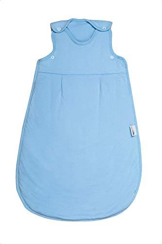 Schlummersack Babyschlafsack Frühjahr/Sommer 1.0 Tog - Blau - 0-6 Monate / 70 cm