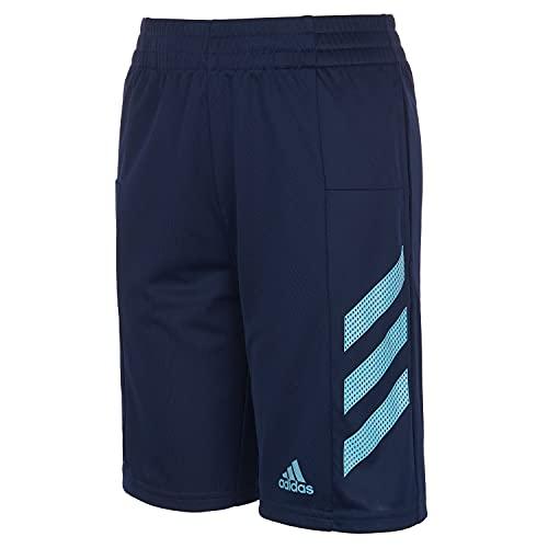 Pantalones cortos Adidas Pro Sport 3s para niños, azul marino, 8-15 años